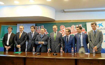 Caixabank dio el visto bueno el pasado 21 de julio a la alianza de Betis y Energía Plus para garantizar el futuro del CB Sevilla.