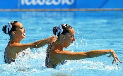 Gemma Mengual y Ona Carbonell disputan esta martes la final de dúo de sincronizada en Río.