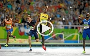 Bolt conquista en 200 su octavo oro ol�mpico camino del triple-triple