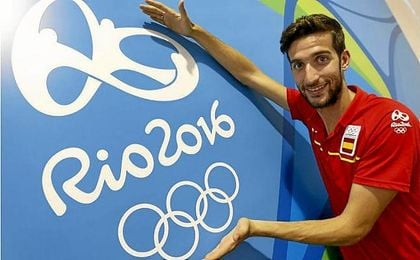 David Bustos peleará por una medalla en la final del 1.500 m.