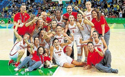 España celebró el triunfo a lo grande.