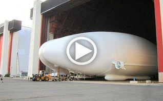 La aeronave m�s grande del mundo alza vuelo