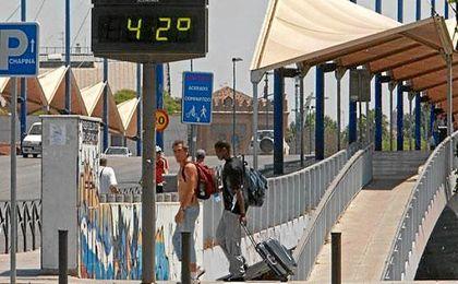 Las temperaturas máximas subirán en toda la Península; en Andalucía se mantienen estables.