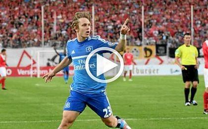 Con su gol ante el FSV Zwickau, Halilovic mantiene vivo a su equipo en la DFB Pokal.