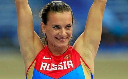 Isinbáyeva se ve en los próximos Juegos.