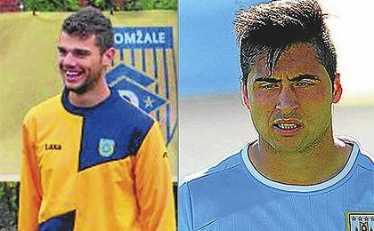 Antonio Mance, izquierda, y Jaime Báez son dos de las opciones apuntadas para el ataque.