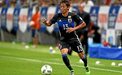 Kiyotake con la selección de Japón