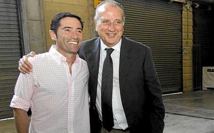 En la imagen, Marcelino y Fernando Roig.