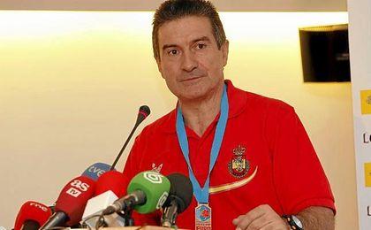 Manolo Cadenas ha estado tres años al frente de la selección.