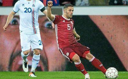 Durmisi disputó los 90 minutos con su selección.