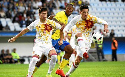 La selección encajó el gol del empate después de que Pau López detuviera un penalti.