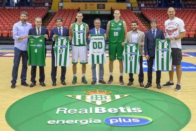 Presentación del Real Betis Baloncesto.