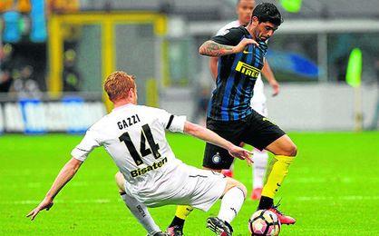 Banega ha creado diez ocasiones en dos partidos con el Inter.