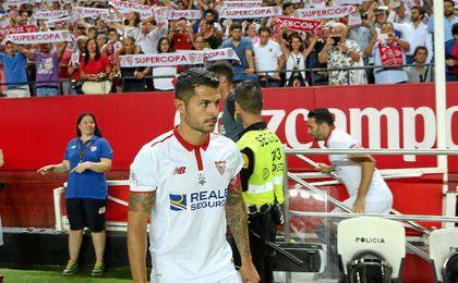 Vitolo se siente importante en el Sevilla.
