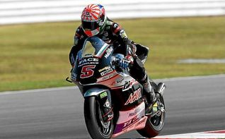 Zarco domina en Moto2 y partir� desde la pole