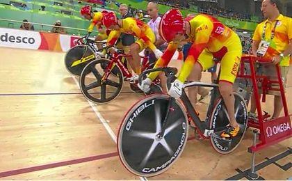 Alfonso Cabello, Amador Granados y Eduardo Santas son los ciclistas que han ganado el bronce.