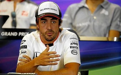 Alonso, optimista de cara al final de temporada.