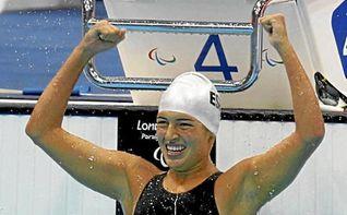 Michelle Alonso gana el oro en 100 braza SB14