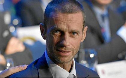 Ceferin. nuevo presidente de la UEFA.