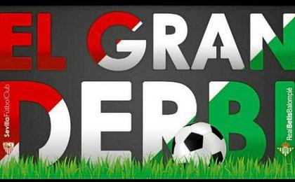 Logotipo del �El Gran Derbi�.