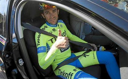 Alberto Contador, que cambiará de club el próximo año.