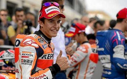 """Márquez: """"Me gusta hablar dentro de la pista; con lo que pase fuera, te ríes y ya está"""""""