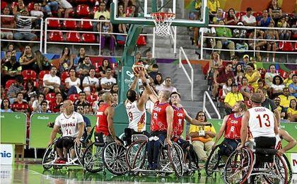 España derrotó en semifinales a Gran Bretaña.