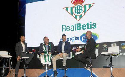 Nikola Radicevic y Rafael Gordillo en la presentación