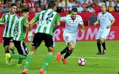 El Betis acumula siete derbis consecutivos sin marcarle un tanto al Sevilla.