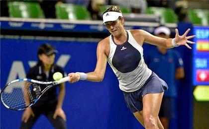 Se enfrentará a la ganadora del cruce entre Elina Svitolina con Pavlyuchenkova.