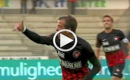Van der Vaart anota su primer gol en Dinamarca