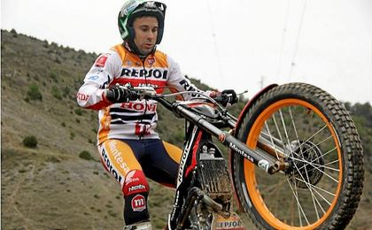 El español Toni Bou, actual líder del campeonato.