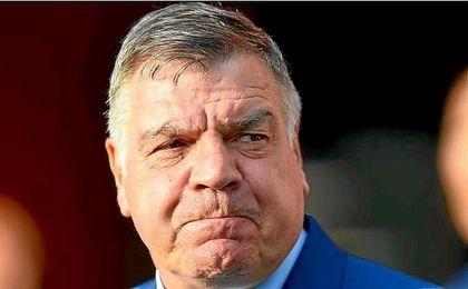 Sam Allardyce solo ha dirigido un encuentro con Inglaterra.