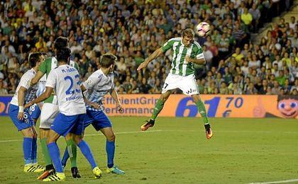 El Betis se midió en la última jornada de liga al Málaga de nuevo el viernes.