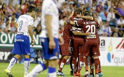 Zaragoza-Córdoba de la temporada pasada, en la que los cordobeses lograron una de sus dos victorias históricas.