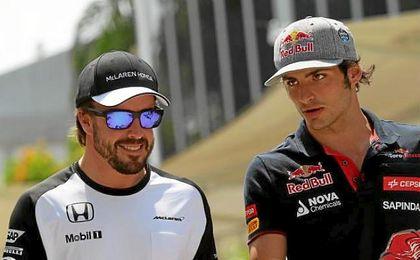 """Alonso: """"Ojalá que Carlos encuentre ese coche ganador que merece""""."""