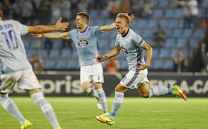 El Celta gan� en Bala�dos en la Europa League diez a�os despu�s.