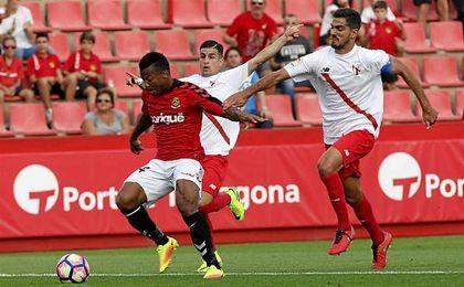 Uche y Bernardo anotaron los goles del encuentro.