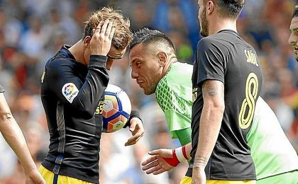Gabi y Griezmann dos nuevas víctimas de Diego Alves.