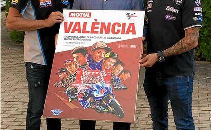 Cartel del Gran Premio de la Comunidad Valenciana.