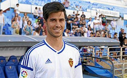 """Edu García: """"Nos gustaría haber sacado más puntos fuera de La Romareda y estamos trabajando para ello""""."""