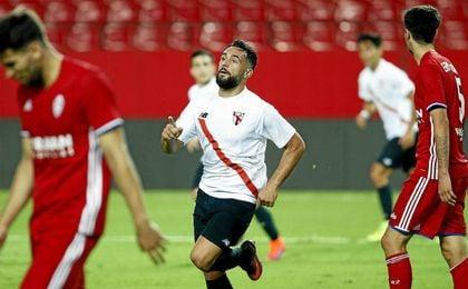 El Sevilla Atlético remonta con dos goles de Ivi.
