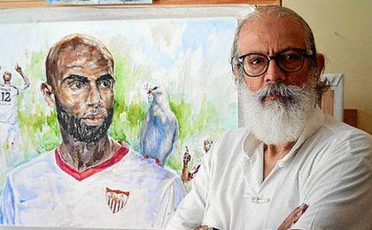 El enfado de Ben Yessef, autor del mosaico de Gol Sur