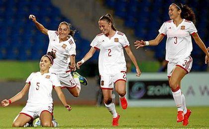La selección española fue bronce en la cita mundialista de 2010 y plata en el Mundial de Costa Rica 2014.