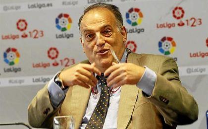 """El máximo mandatario de LaLiga explicó que """"un directivo de Osasuna ha tenido prisión preventiva"""" por esos hechos."""