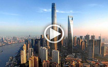 El ascensor más rápido del mundo está en Shanghái: 120 pisos en menos de un minuto
