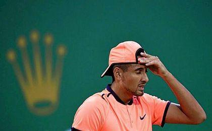 Kyrgios ha sido multado por la ATP en su enésima polémica.