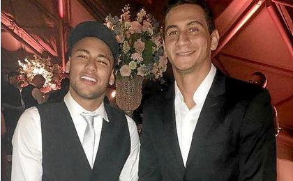 Neymar y Ganso, una amistad que comenzó en el Santos.