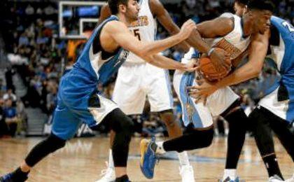 El jugador español de los Timberwolves anotó 7 puntos y dio 8 asistencias en 25 minutos.