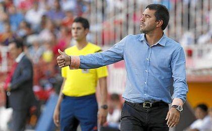 Contra ha salido contrariado del Alcorcón.